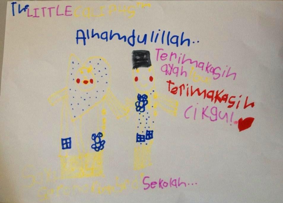 lukisan anak kreatif