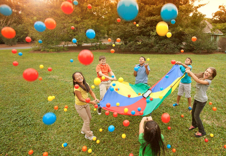 main di taman untuk anak sihat cergas