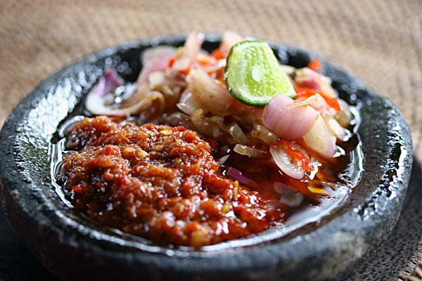 sambal belacan goreng
