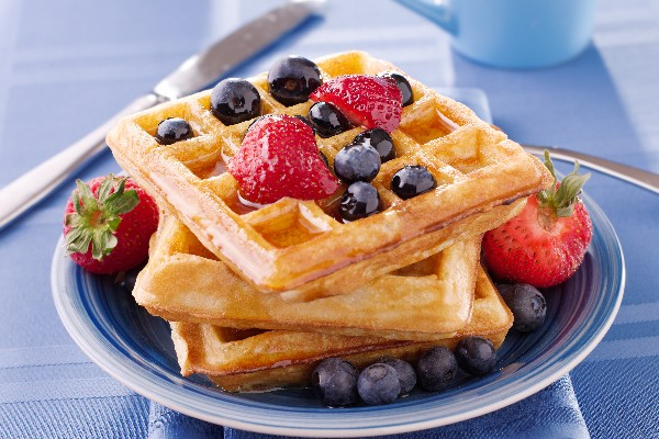 resepi waffle gebu