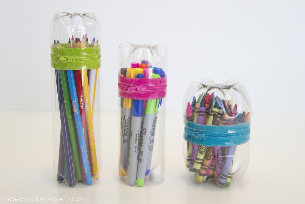 No-Sew-Zipper-Cases-from-old-SODA-or-water-BOTTLES-3