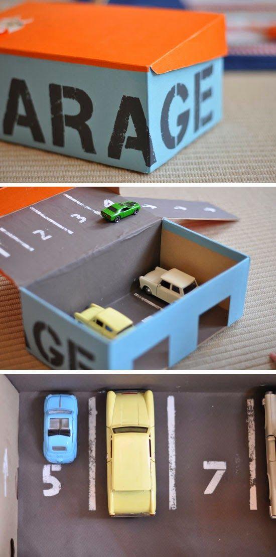 garaj kereta mainan