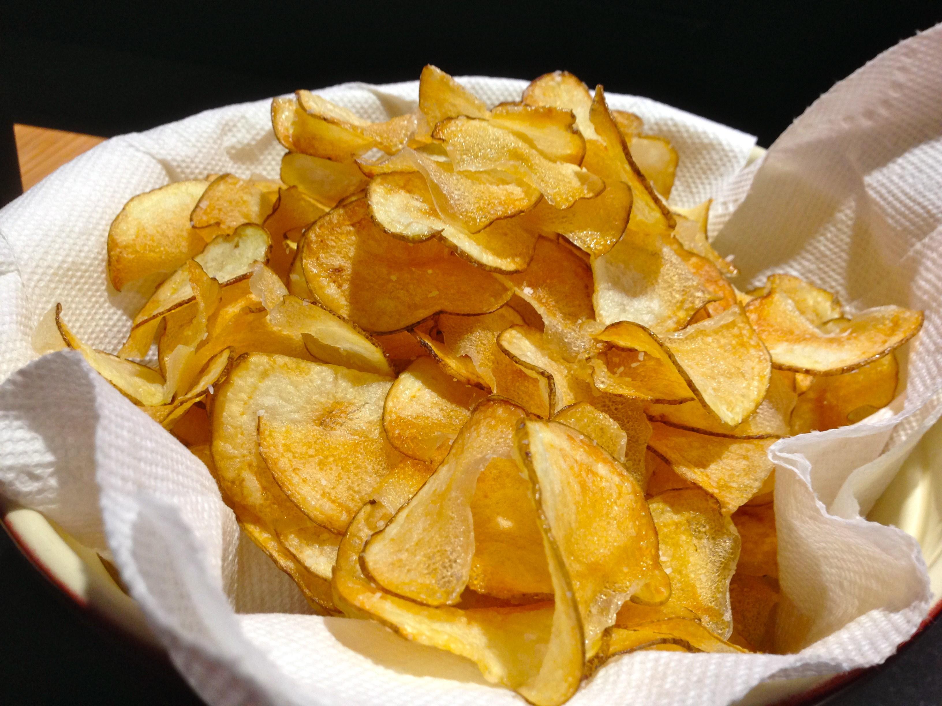 buat sendiri kerepek kentang